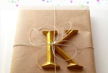 Gift wrapping / Ideas for gift wrapping