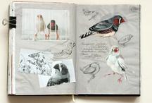 BOOKS – BLANK AND WRITTEN / by patternandprint ♥