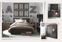 Teen bedroom / by Traci Herger