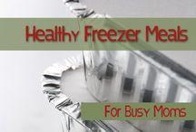 Freezer Meals / by Abbey Cromer