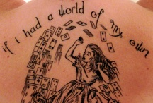 Literary Tattoos  / Book lovers take their love of words from the page to the skin. Everywhere I go there I am.