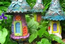 Fairies in the garden / Everyone could use a little magic in their lives! / by Judi Bennett