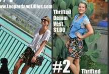 Copy Cat (via thrift store) of Favorite Blogs, Style & Pins!