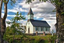 old church houses / by Stephanie Courtney