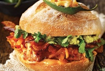 Yummo Sandwiches for Lunches/Dinners or Snacks / by Susie Overholser