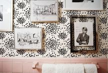 Pink Bathroom Overhaul / by Stephanie Bowling