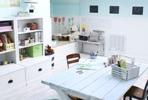 craft room ideas / by Stephanie Courtney