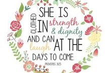 Being a Proverbs 31 Woman / by Heather Mullin