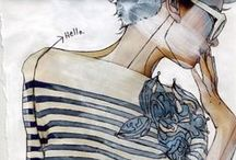 ILLUSTRATIONS / les filles / by sofybook
