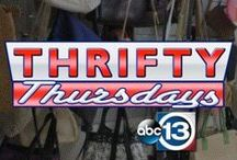 """Thrifty Thursday Challenge / Readers submit looks and we recreate them from a thrift store """"Thrifty Thursdays with Too Cheap Blondes!"""""""
