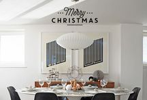 THE CHRISTMAS TABLE / Setting the scene. Eat, be merry and be stylish!