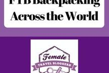 FTB Backpacking Across the World / This is a place for Female Travel Bloggers to share their favorite travel tips and experiences on your backpacking adventures.  Post no more than 10 pins a day. For every Pin you add to this board, you must Re-Pin One of someone else's. VERTICAL pins only! If you would like to be a collaborator for this group board, visit http://bit.ly/FTBPin request to join, fill out the form, and search for the Pinterest Group Board thread.