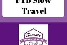 FTB Slow Travel / This is a place for Female Travel Bloggers to share their favorite travel tips and experiences during slow travel. Post no more than 10 pins a day. For every Pin you add to this board, you must Re-Pin One of someone else's. VERTICAL pins only! If you would like to be a collaborator for this group board, visit http://bit.ly/FTBPin request to join, fill out the form, and search for the Pinterest Group Board thread.