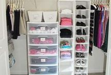 Closet Organization / All the best ways to organize your closet.