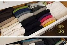 Bedroom Organization / The best ideas to organize bedrooms.