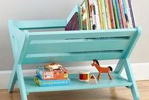 Kids Bedroom Organization / The best ideas for organizing kids bedrooms.