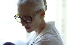 Granny Chic  / Aging with style! / by Be Red