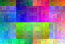 Quilts - Colorplay Quilts - 1 / The sheer joy of making a quilt to explore color....my favorite kind!   If you see your work, you are so very, very admired!  Please add a comment with your name and contact if it isn't shown.   / by Sharon Leahy