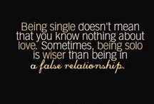 For My Single Friends