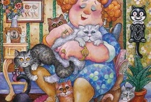 crazy cat lady / one can never have too many cats                                / by Dee Gordon