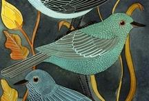 Bird Art Inspiration / by Shirley Tinker