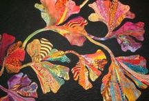 Quilts - Floral - 1  / If you see your work, you are admired!  Please add a comment with your name and contact if it isn't shown.   / by Sharon Leahy