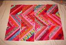 Quilts - Strip Quilts / Whether they are jelly rolls, selvages, or scraps, we all end up with strips!  Good to know what others are doing with them.  If you see your work, you are admired!  Please add a comment with your name and contact if it isn't shown.   / by Sharon Leahy