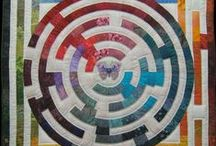 Quilts - Art, Spiritual / If you see your work, you are very, very admired!  thank you for expressing your vision of the divine, the divine in all of us and in everything, and the divine as inspiration, in fabric.  Please add a comment with your name and contact if it isn't shown.   / by Sharon Leahy