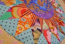 Quilts - NY Beauty  / So glorious, so cheerful, so frisky!   If you see your work, you are admired!  Please add a comment with your name and contact if it isn't shown.   / by Sharon Leahy