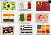 around the world eats / by Dee Gordon