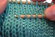 DIY knitting and crochet