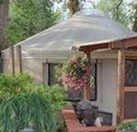 Eco Bouwen & Wonen / yurt - cob - strobalen - leem - hout - passief - natuurlijk - gezond - ecologisch