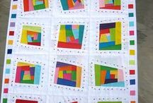Quilts - Modern - 2 / If you see your work, you are admired! Please add a comment with your name and contact if it isn't shown.    / by Sharon Leahy