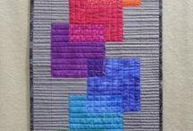 FMQ - Geometric / This is an interesting and powerful form of quilting. / by Sharon Leahy