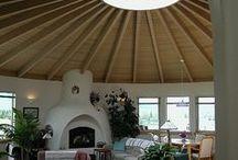 Eco Wonen - binnen / Ecologisch wonen. Ideetjes voor binnen, de inrichting en indeling van je woning. Je huis inrichten met ecologische natuurlijke materialen om gezonder te wonen.