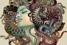 Medusa / Enchanting, yet terrifying.