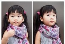 Asian Toddler Hair Ideas / My toddler daughter descends from Chinese and Eastern European ancestry. She inherited her father's texture (straight, grows forward from crown) and her mother's medium brown color. Here I collect ideas for how to do more than the typical Asian bob, though that style is what works best, to be honest!