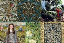 ❤️ Textile & mix ideas ❤️ / Idées de mix sur les matières, motifs et couleurs en fonction des saisons.