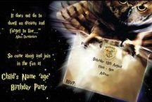 Harry Potter Party Ideas / The movies may be finished but the parties are going strong! We've summoned Harry Potter party ideas from invitations, decorations and party favours to games, party food and birthday cakes.  / by Ezy Kids Parties & Childrens Party Supplies
