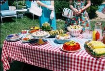 potluck, picnics & cookouts / grilling and long-lost family reunions / by Dee Gordon