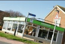 emmaus by the sea... / Our shop in Southwick, just a pebbles throw from the main Emmaus site in Portslade.