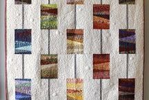Quilts - Scraps very Artsy / by Sharon Leahy