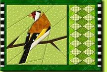 Quilts - Borders - exotics / by Sharon Leahy