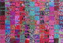 Colorplay Quilts - 2 / For those days when your spirit just needs color!    / by Sharon Leahy