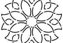 FMQ - Lattice & Mandala / by Sharon Leahy