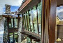 Mountain Living / Mountain Contemporary homes
