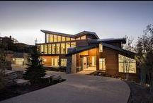 Mountain Modern / Modern homes