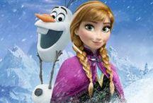 """Nina's Birthday / Inspiration for Nina's """"Frozen"""" themed 3rd birthday party."""
