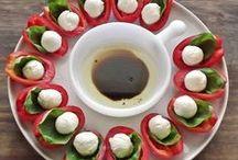 Gezonde Hapjes & Tapas / Gezonde recepten voor hapjes, aperitief, tapas, ...