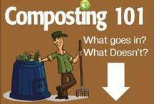 Tuin: compost - composteren / Composteren, zelf compost en groencompost maken om te gebruiken in je tuin en moestuin.